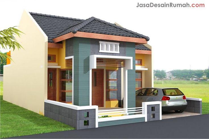 rumah klasik sederhana dan elegan