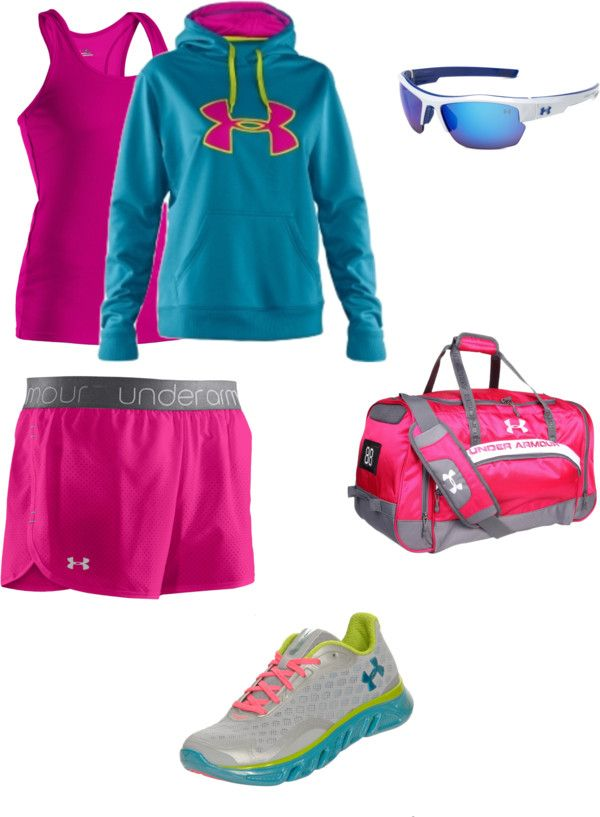 """Under Armour"" by dtiij on Polyvore"