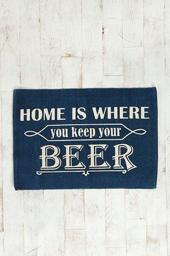 Home Is Where You Keep Your Beer