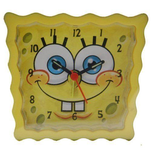 Spongebob Squarepants Analogue Yellow Kids Alarm Clock SpongeBob SquarePants. $19.95