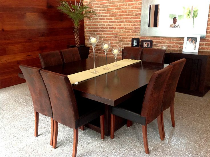 Best 25 comedor 8 sillas ideas on pinterest comedores for Comedores sillas
