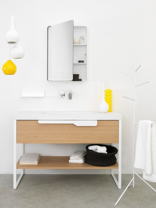 bañoBathroom Design, Bathroom Furniture, Bathroom Inspiration, Coolpendantyellowlight Lights, Decor Bathroom, Bathroom Ideas, Modern Bathroom Vanities, Bathroom Interiors Design, Bathroom Decor