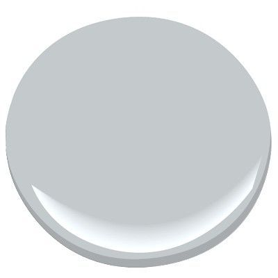 Benjamin Moore Silver Half Dollar, looks good in low light, cool gray with blue undertones. For all of bedroom except sitting area.