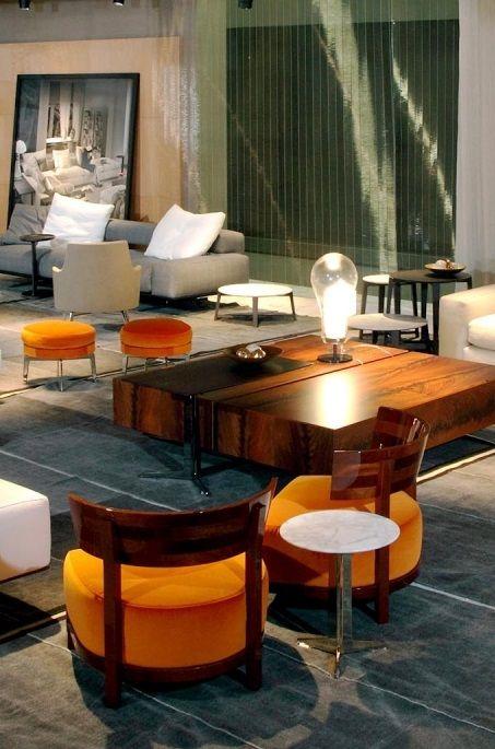 FLEXFORM THOMAS #armchairs #design Antonio Citterio