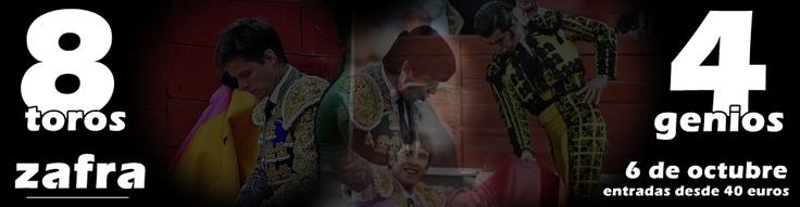 Promedio de orejas por tarde a día de hoy: El Juli (1,89); Miguel Ángel Perera (1,27); Alejandro Talavante (1.23) Morante de la Puebla(0.5) ... Los cuatro toreros se juntarán el 6 de octubre en Zafra...¡Entradas a la venta! http://www.toroticket.com/182-entradas-toros-zafra-badajoz