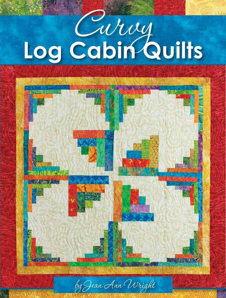 Curvy Log Cabin Quilts (Paperback)
