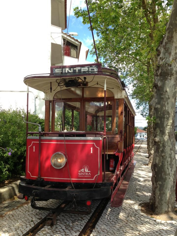 Sintra, typical tram , Portugal