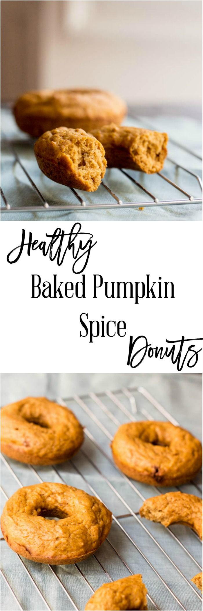Healthy Baked Pumpkin Spice Donuts - this delicious dessert recipe doesn't have to kill the weight you are losing. It's only 5 SmartPoints per donut on Weight Watchers and you would never know these were a healthy alternative to your traditional donut.