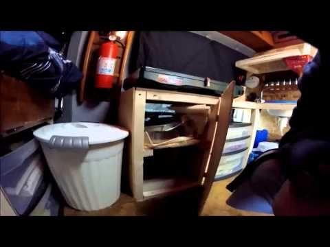 Last Van Tour Video Before Moving In