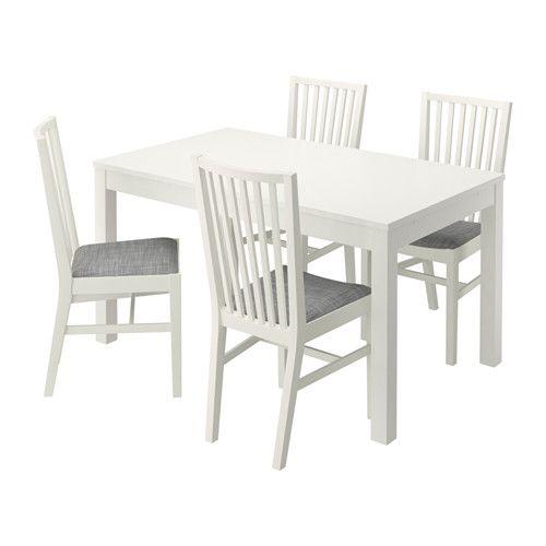 BJURSTA / NORRNÄS Bord og 4 stoler IKEA