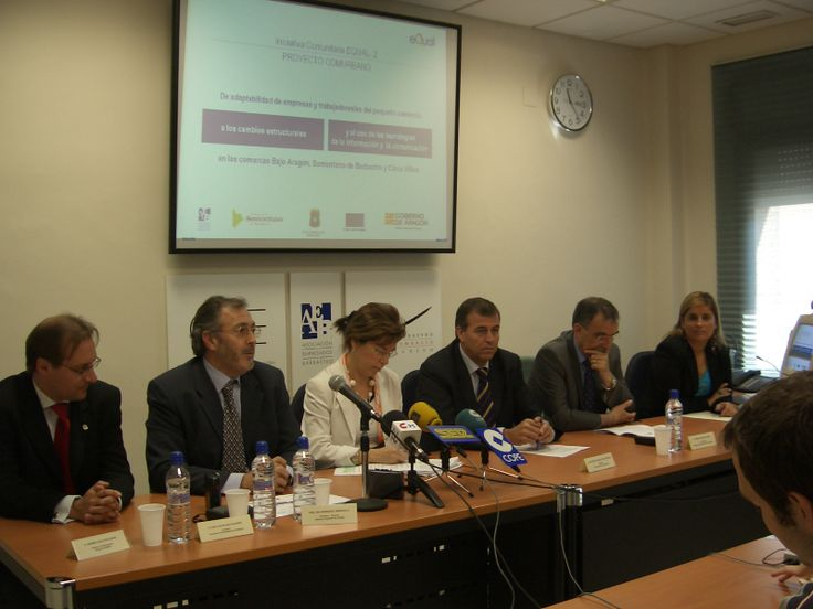 Andres Coca-Stefaniak (ATCM Programme Manager for Research and International Partnerships) at EU project press conference in Spain.
