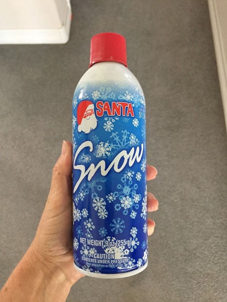A woman buys spray snow at Walmart and wait until you see what she does on her window!