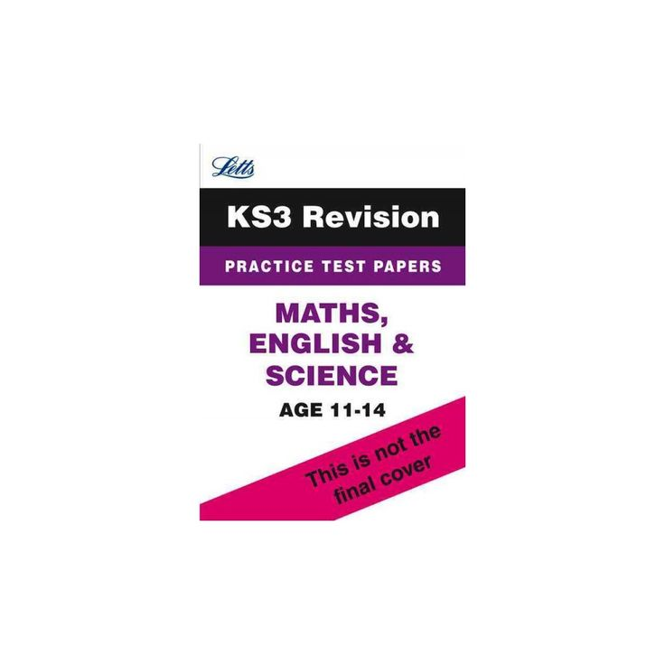 Letts Key Stage 3 - Maths, English and S ( Letts Key Stage 3) (Paperback)
