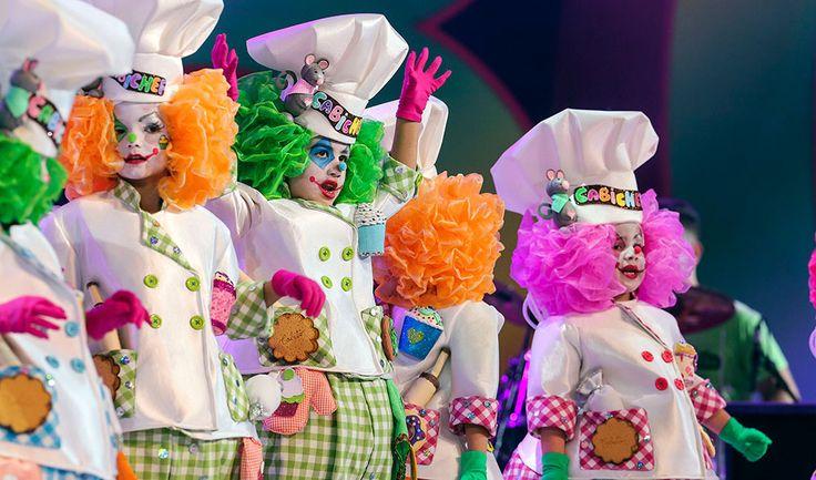 Carnaval Santa Cruz de Tenerife   Resumen Fotográfico de Murgas Infantiles 2016