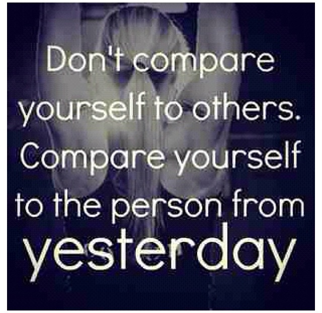 Dont Compare Quotes: Quotes About Comparing Yourself To Others. QuotesGram