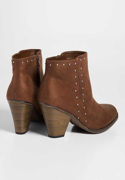 f48c4f3f14dd MIA Lela studded bootie - size 8