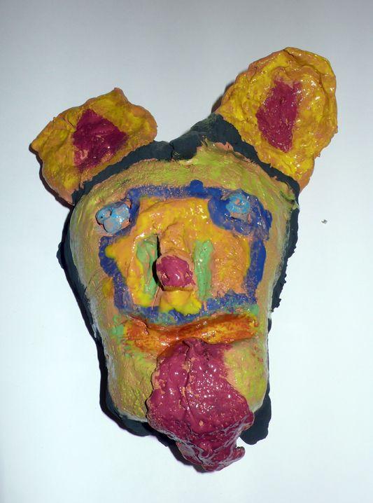 Maschera di quasi sciamano (ceramica)