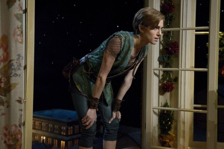 High Res PETER PAN LIVE! -- Dress Rehearsal -- Pictured: Allison Williams as Peter Pan -- (Photo by: Virginia Sherwood/NBC)