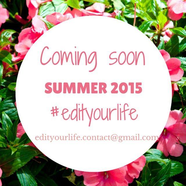 Σε λίγες μέρες έρχεται το καλοκαιρινό τεύχος του #edityourlife http://issuu.com/edityourlife #staytuned