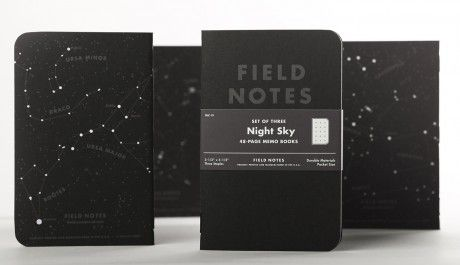 We use Field Notes all the time for jotting down ideas, this Night Sky edition looks sweet.