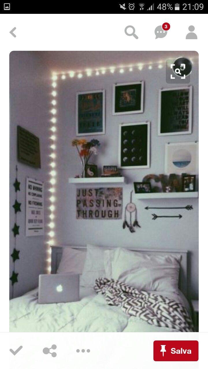 Favoloso Oltre 25 fantastiche idee su Camere tumblr su Pinterest | Camere  CE89
