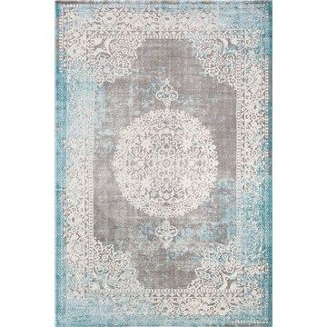 Erin Nathan Superior Modern Weaving Rug in Blue/Grey - 120x170cm
