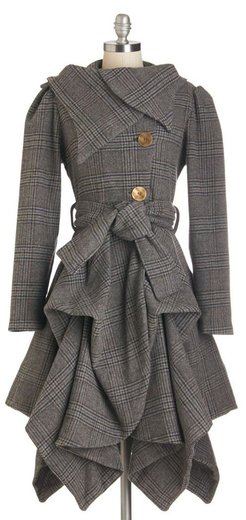 tiered coat