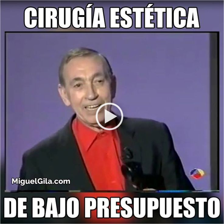 CIRUGIA ESTETICA DE BAJO PRESUPUESTO un divertido VideoMeme de Miguel Gila