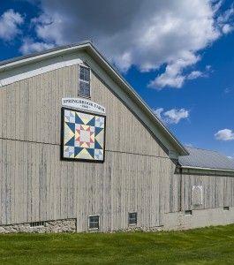Springbrook Farm Farm, LaGrange County, IN tour - Pence Family Farm since 1860 - love our old barn - cb