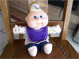 Doll clothes, Newborn Cabbage Patch Kid patterns!