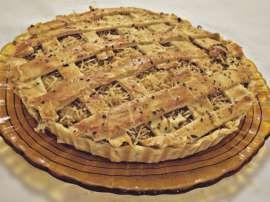 Torta de frango massa folhada: Receita de Torta de frango massa folhada.