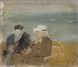 Seated Couple 1933