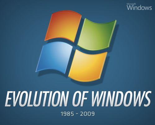 Evolution of Microsoft Windows: 1985   2009
