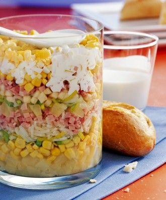 Lecker Schichtsalat | Kochen | EDEKA