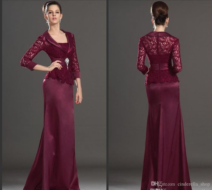 2018 New Burgundy Lace Mother Of The Bride Dresses Long Sleeves Mermaid Floor Length Formal Mother Dress Wedding Guest Gowns Plus Size Cheap Mother Of The Bride Gowns Mother Of The Bride Plus Size Dresses From Cinderella_shop, $109.23| Dhgate.Com