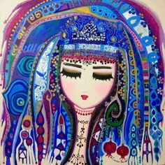 such lovely artwork from Canan Berber <3