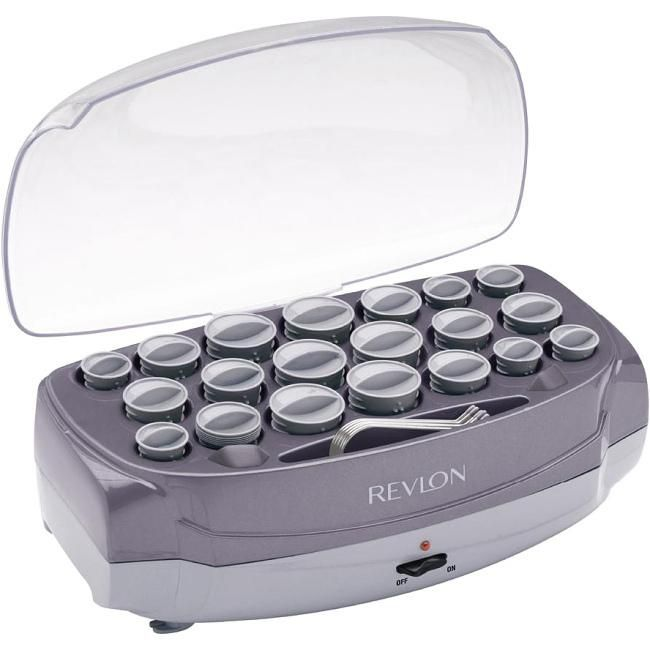 The Revlon RV261 20-Roller Ionic Professional Hairsetter uses ionic technology that not only helps style your hair with ease, but also retains its moisture. Built-in ionic outlets... More Details