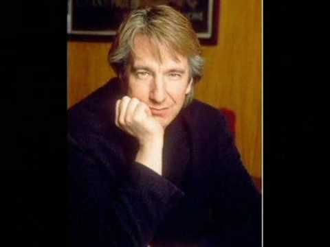 I got: Alan Rickman! Which Brit Should Narrate Your Life?