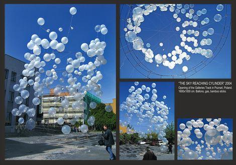ADAM KALINOWSKI, THE SKY REACHING CYLINDER on ArtStack #adam-kalinowski #art