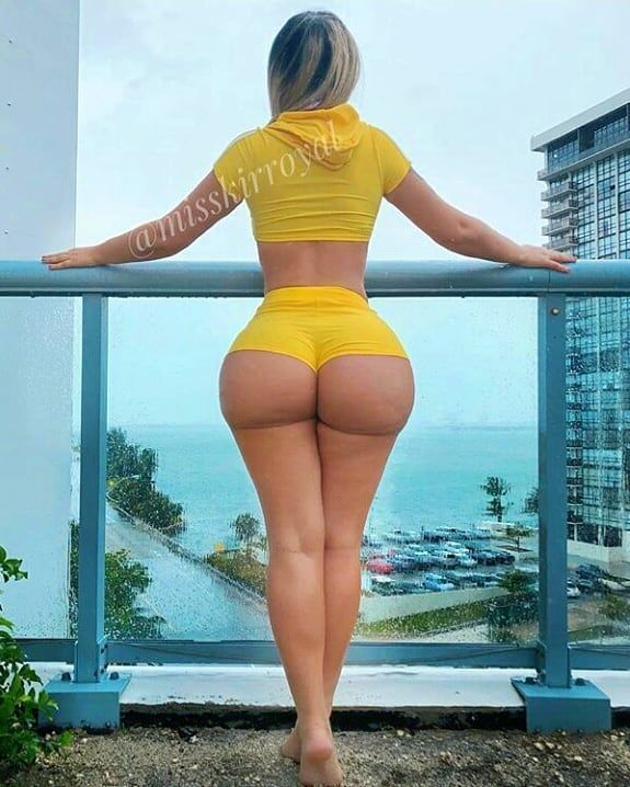 Good message Big beauty booty sexy