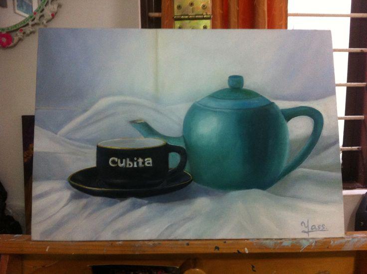 oleo sobre lienzo. by Yass.