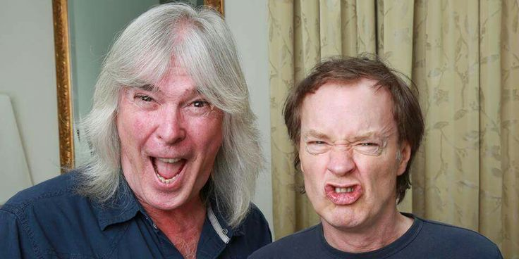 Cliff Williams and Angus Young - AC/DC