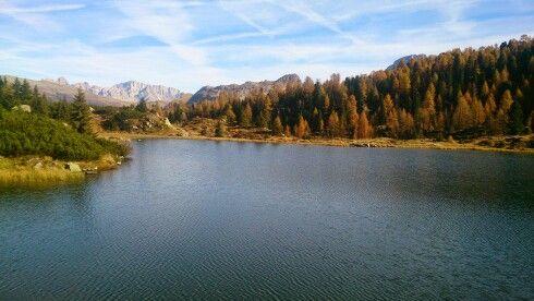 Autumn at Laghetti Colbricon