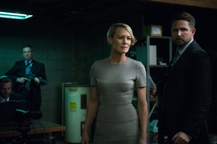 Created by Beau Willimon.  With Kevin Spacey, Michel Gill, Robin Wright, Kate Mara. A Congressman works with his equally conniving wife to exact revenge on the people who betrayed him.