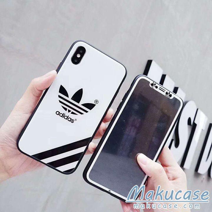 39a9af470e adidas アイフォン8/xカバー 運動風 iphone鏡面ケース ブランド iphonexケース カップル Nike