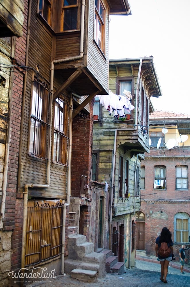 Balat-Fener: A Jewish neighborhood on the Golden Horn.