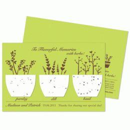 plantable paper! cute