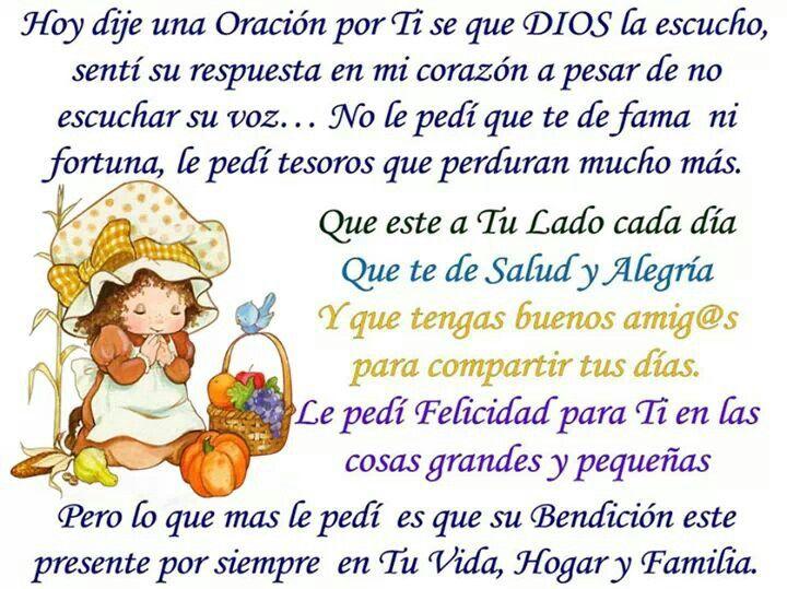 ¡Oración. !