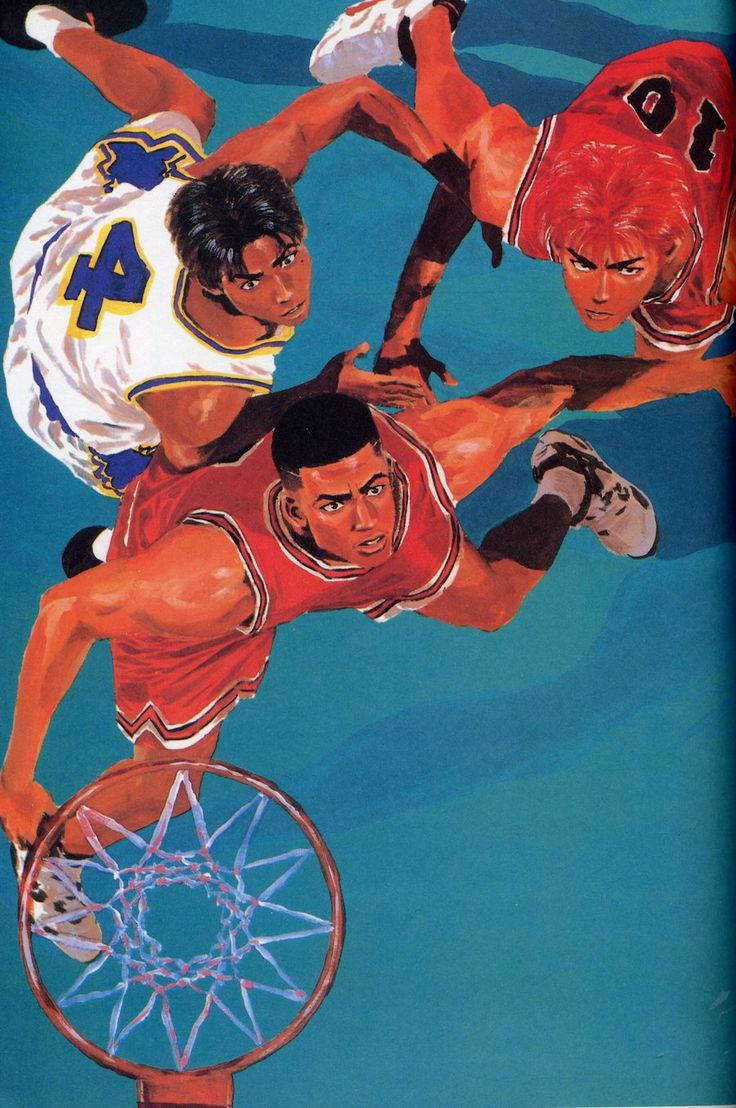 Pin by Kamal Fareed on Slam Dunk in 2020 Slam dunk manga