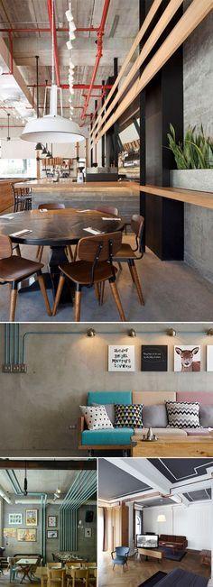 A decoração industrial tem se tornado cada vez mais queridinha entre os fãs de um estilo mais moderno. Algo prático de fazer é deixar os conduítes aparentes